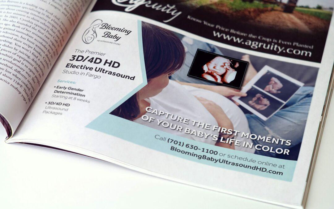 Blooming Baby – Magazine Ad