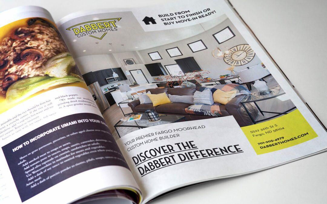 Dabbert Custom Homes – Magazine Ad